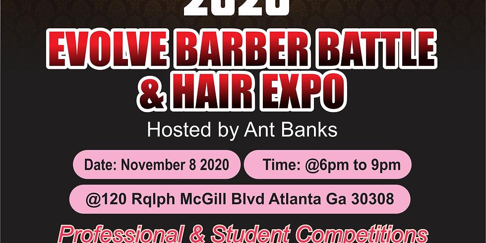 2020 EVOLVE Barber Battle & Hair/Makeup Expo