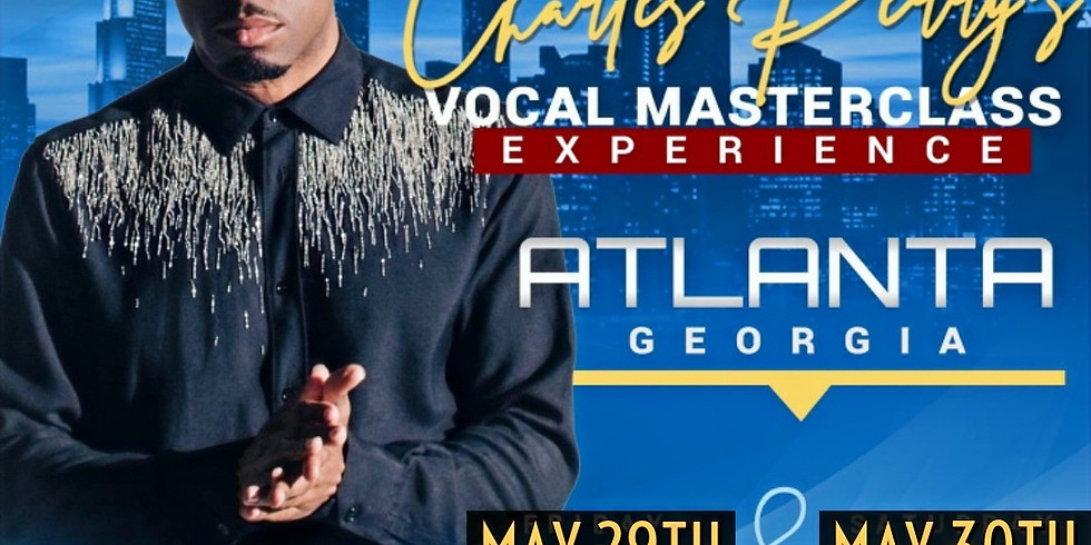 Charles Perry 2 Day Vocal Masterclass
