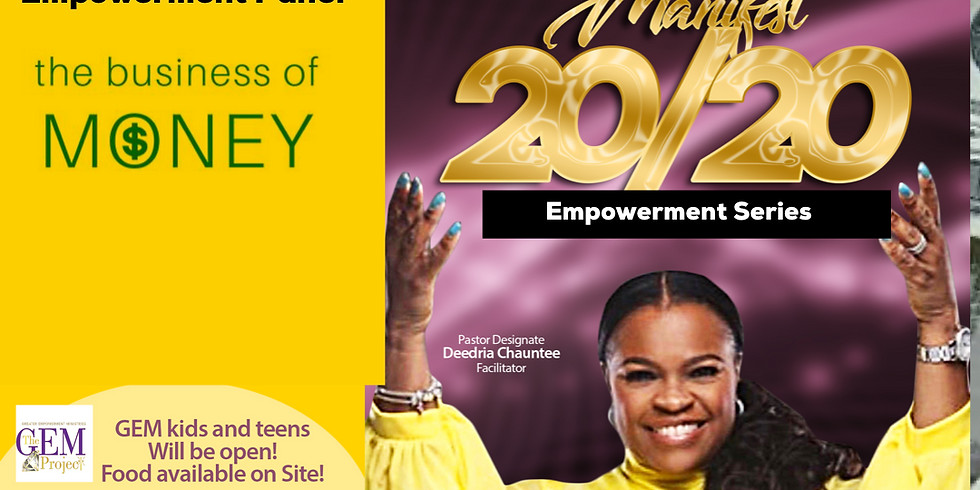 """Manifest 2020"" Worship +Word+Workshop Experience"
