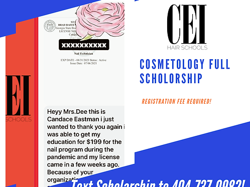 Cosmetology Scholarship