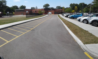 Parking Lot View From West