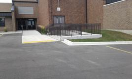 Handicap Ramp w/ Steps