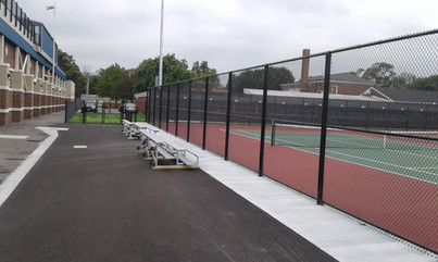 Tennis Bleacher Area