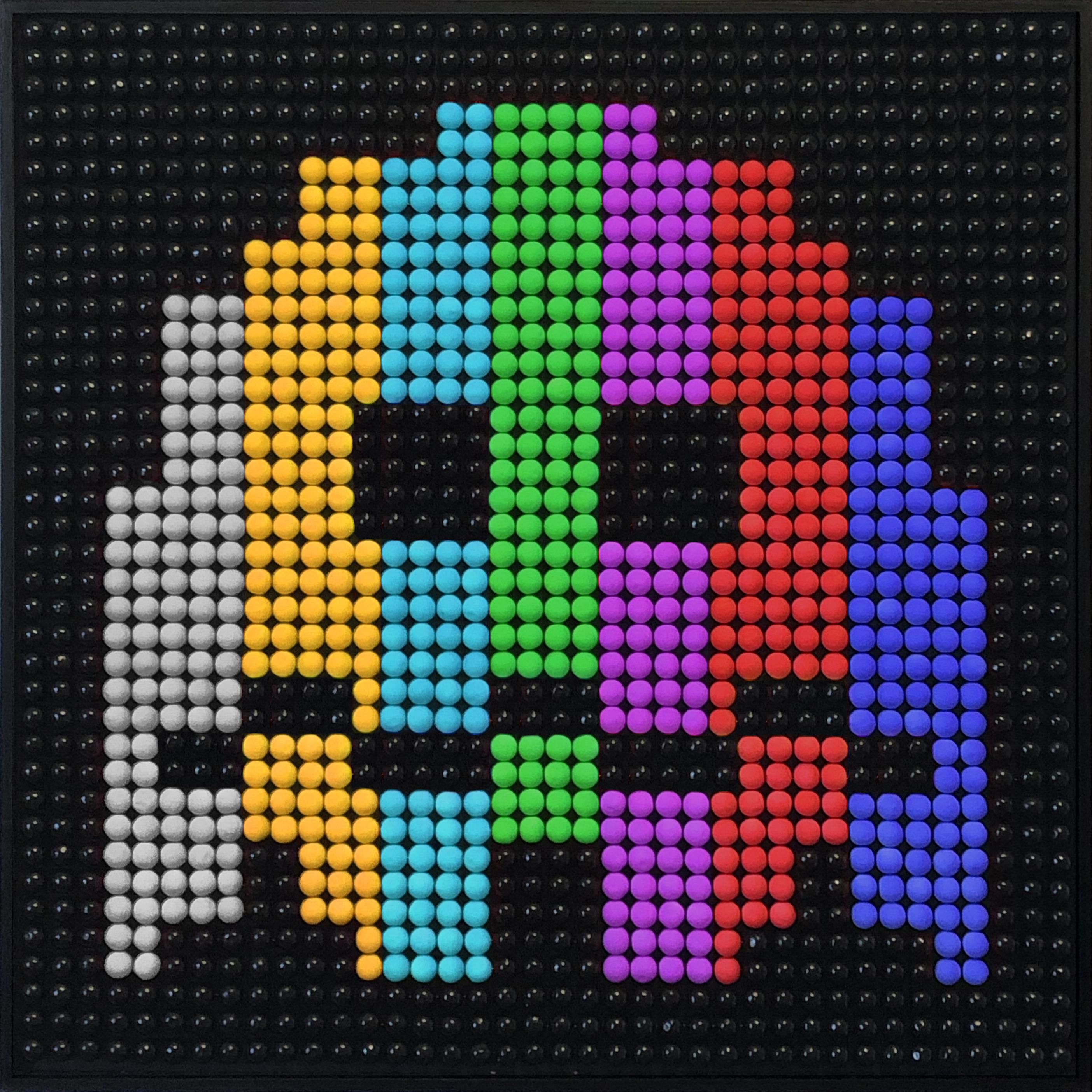 Bubble Gums Color Bars Ghost