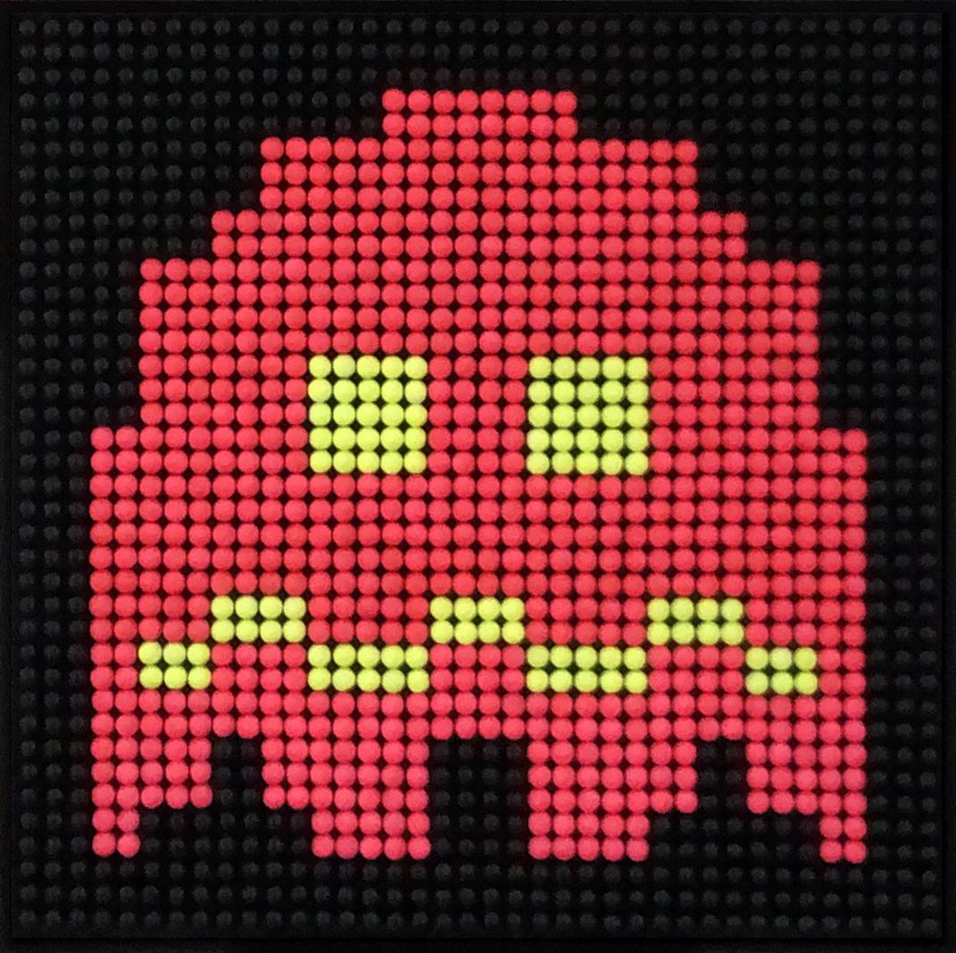 Bubble Gums Fluo GhostBubble Gums Cola PacmanArteria_MikePelland_Red Pink Bubble Gums