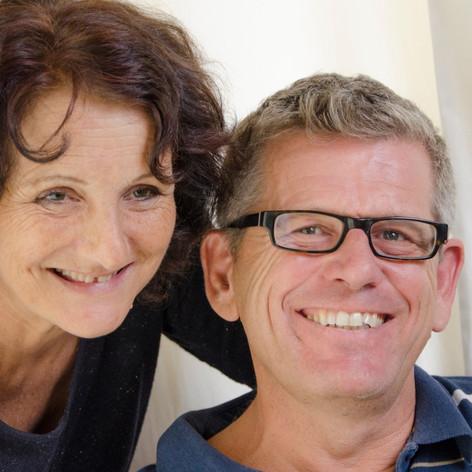 Brigitte Chavas et Manu Friedli