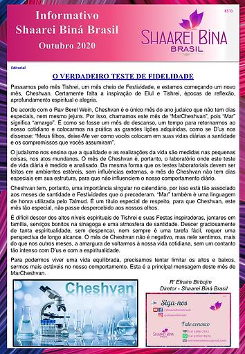 Shaarei news mensal_outubro