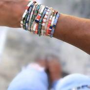 Bracelets TILA ❤💚💙🤎🤍