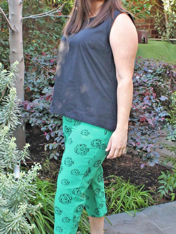 IMG_2553 BLACK Tie Dyed Cami with GREEN Print Pants.jpg