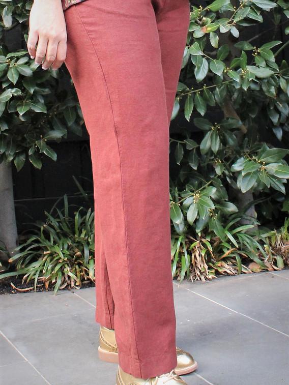Sunset Boulevard Annie pure linen pants