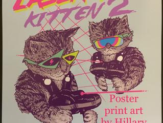 Laser Tag Kitten
