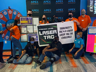 Raising Funds and Awareness Through Laser Tag