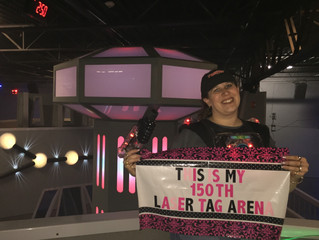Playing my 150th Arena – Laser Tag of Baton Rouge and Metairie