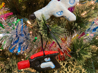 Win These Laser Tag Ornaments!