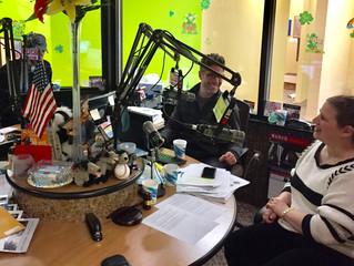 Laser Tag Talk on the Radio