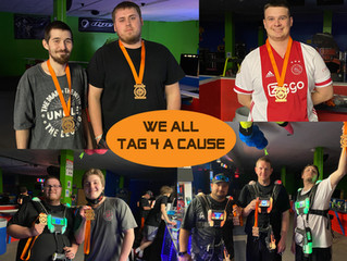 Tag 4 A Cause Laser Tag 5K Challenge is Back!