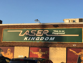 Long Island Laser Tagging…First Stop, Laser Kingdom