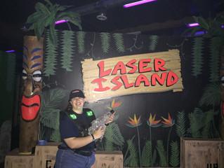 Here On Laser Island