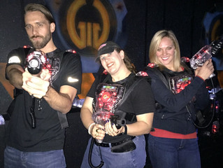 Laser Tagging for a Cause with Olympic Athletes