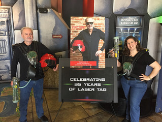 International Laser Tag Day 2019: Making Laser Tag History with George Carter III