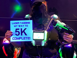 Laser Tagging My Way To 5K