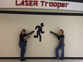 Laser Trooper and the Latest Data