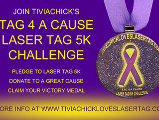Join Me and Laser Tag 4 A Cause During Pancreatic Cancer Awareness Month