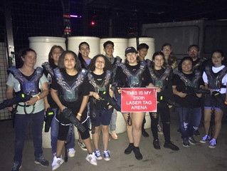 Lazer X Texas Is My 250th Laser Tag Arena!