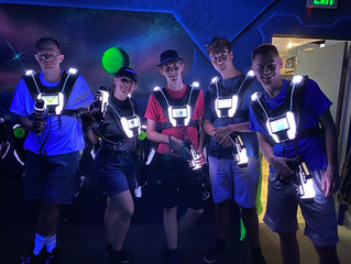 Laser Mania with the Members