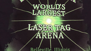 Illinois: Playing at the World's Largest Laser Tag Arena