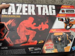 The Most Wonderful Time of the Year...For Laser Tag and Giving
