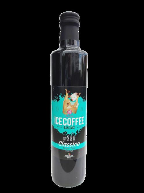 IJskoffiesiroop basismix Cappuccino suikervrij , vegan