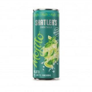 Shatler's Mojito Cocktail Premix Blikjes 25cl Tray 12 Stuks