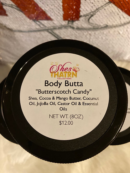 """Butterscotch Candy"" 8 oz Body Butta"