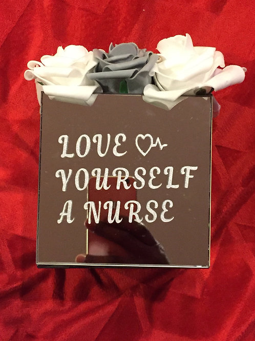 Love Yourself A Nurse Mirror Box