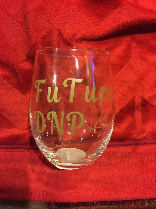 Future DNP Wine Glass Gold