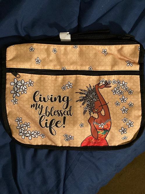 Living My Blessed Life Crossbody Bag