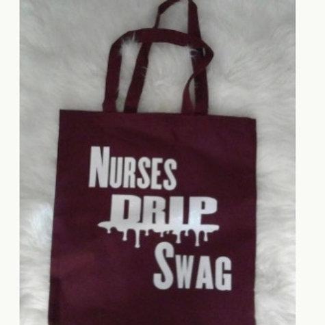 Nurses Drip Swag Tote Bag