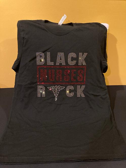Black Nurses Rock (Silver & Red)