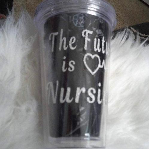 The Future Is Nursing Tumbler