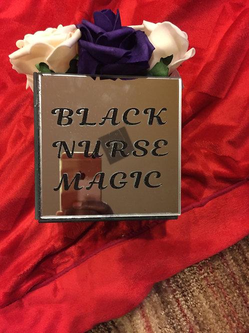 Black Nurse Magic Mirror Box
