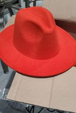 Orange Panama Hat