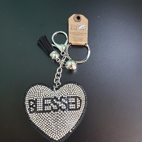 Blessed Heart Key Chain