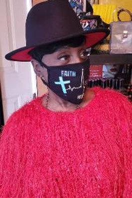 Black Red Bottom Hat