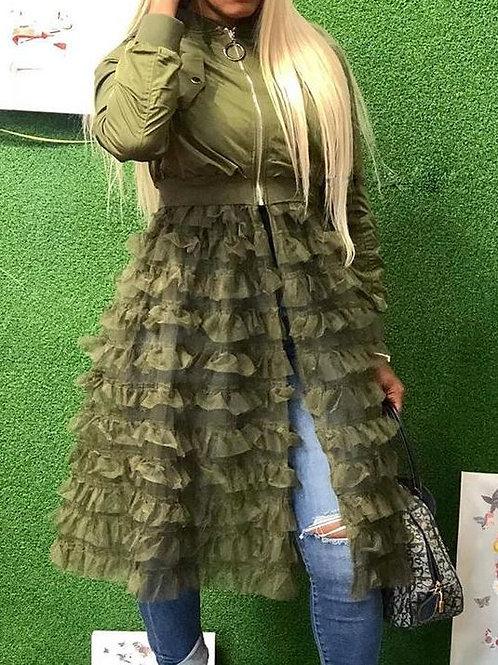 Diva Bomber Style Chic Jacket