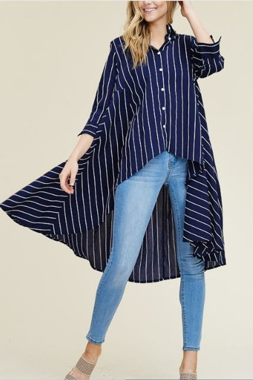 Stripe Swing Tunic