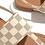 Thumbnail: Square Print Pattern Thong Sandal