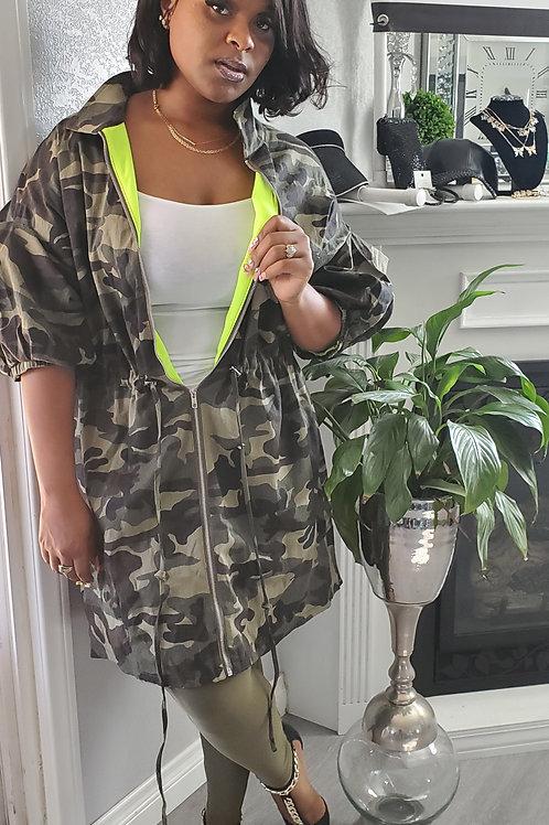 Camouflage Jacket Dress