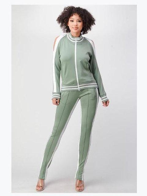 Celery Track Suit