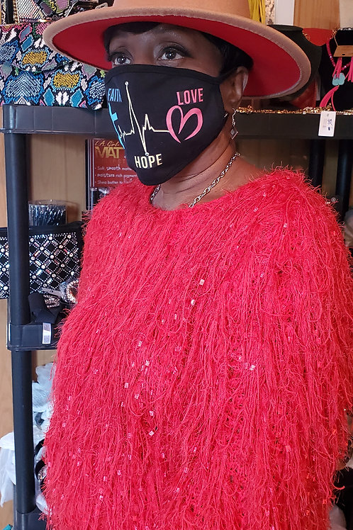 Taupe Red Bottom Hat